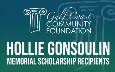 Hollie Gonsoulin Memorial Scholarship Recipients