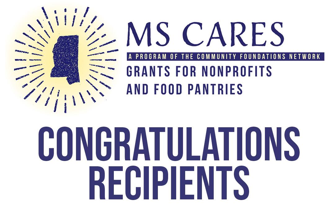 Congratulations to our MS Cares Grants Recipients